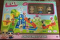 Игровой набор Парк развлечений  Кукла Лол
