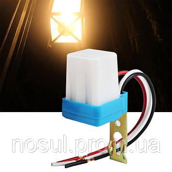 Фотореле, датчик освещения. Автоматическое вкл выкл света 220В 10А