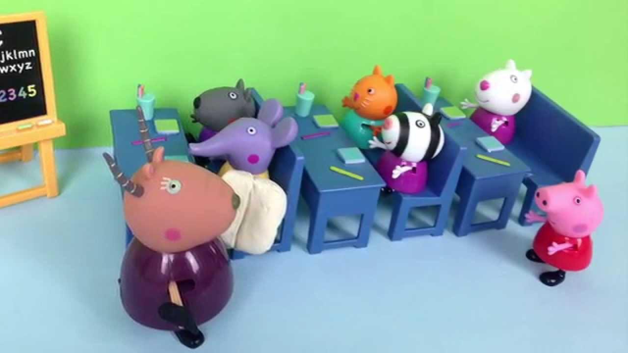 Игровой набор - Школа  свинка Пеппа peppa pig