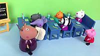 Игровой набор - Школа  свинка Пеппа peppa pig, фото 1