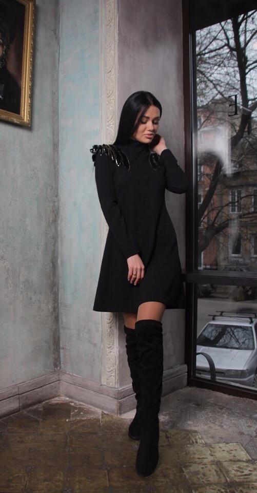 Женское стильное платье АК402