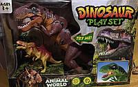 Динозавры  -  игровой набор со звуковыми и световыми эфектами