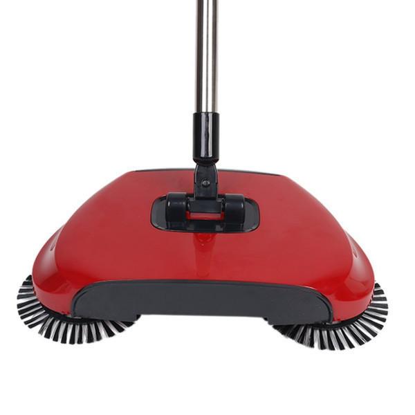 Веник, свипер,  щетка для пола механическая, веник с щетками, Sweep drag all in one Rotating 360,