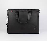 Кожаный портфель, сумка для документов, папка Gucci 1104-1, 38*29*7 см