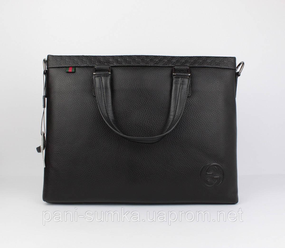 3c2cbd685522 Кожаный портфель, сумка для документов, папка Gucci 1104-1, 38*29*7 ...