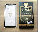 5d full glue загартоване скло на весь екран Xiaomi pocophone F1 чорне 0,26 мм водостійке, фото 8