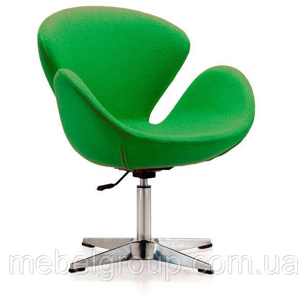Кресло барное Сван зеленое