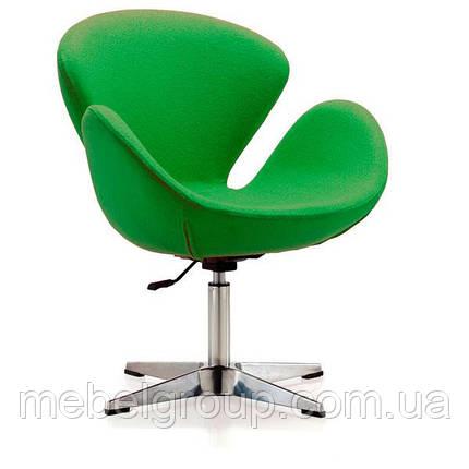Кресло барное Сван зеленое, фото 2