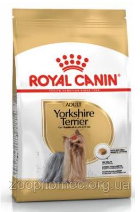 Сухой корм для собак Royal Canin (Роял Канин) YORKSHIRE TERRIER ADULT породы Йоркширский терьер, 7,5 кг