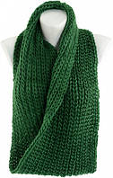 Шарф-снуд женский из акрила Traum 2482-22 зеленый