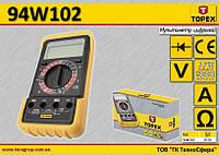 Мультиметр цифровой 4-х разрядный,  TOPEX  94W102, фото 1