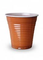 Пластиковый стакан для кофе Flo 166мл (100шт.) Италия