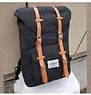 Рюкзак мужской с карманом для ноутбука черный., фото 3