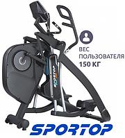 Адаптивный тренажер орбитрек Sportop E770 эллиптический, с регулировкой длины шага, для степа, ходьбы, бега