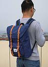 Рюкзак с карманом для ноутбука Miyahouse синий.(503\1), фото 3