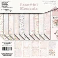 Набор двусторонней бумаги 30х30см от Scrapmir Beautiful Moments 11шт