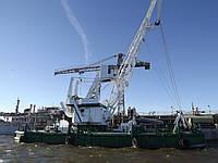 Аренда спецтехники: плавкран (5 и 16 тонн)