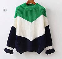 Женский свитер крупной вязки (4 расцветки), фото 1