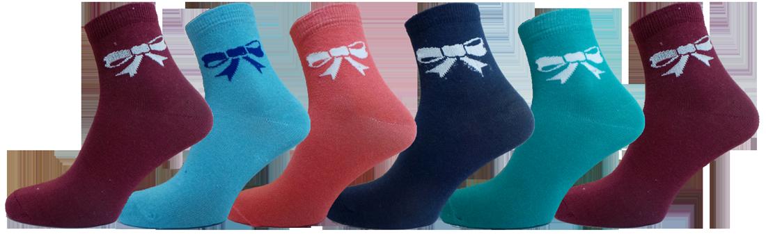 """Жіночі шкарпетки бант""""lomani"""""""