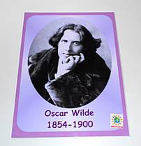 Портреты английских поэтов и писателей Oscar Fingal O'Flahertie Wills Wilde