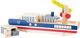 Деревянный контейнеровоз Legler 10158