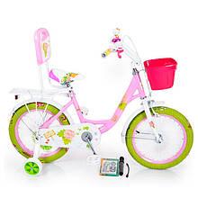 Детский Велосипед 18-ROSES Pink