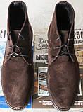 Clarks Men Desert Boot мужские коричневые замшевые ботинки реплика дезерты весна осень 2020, фото 5