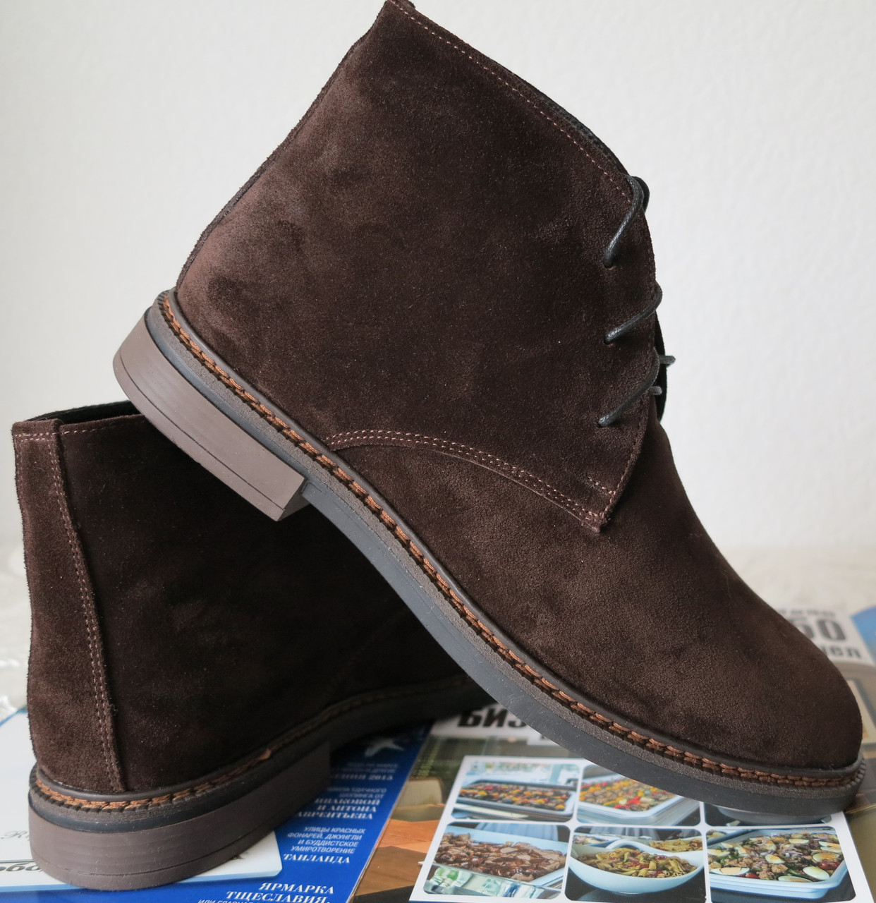 Clarks Men Desert Boot мужские коричневые замшевые ботинки реплика дезерты весна осень 2020