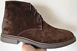 Clarks Men Desert Boot мужские коричневые замшевые ботинки реплика дезерты весна осень 2020, фото 8