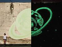 Люминесцентная краска Noxton наружных работ, фасовка 1 литр.