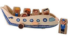 Деревянный самолет Legler 10024