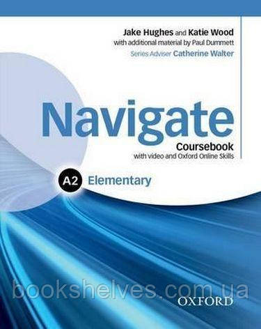Navigate Elementary A2 Course Book + DVD + Online Skills