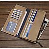Мужской кошелек клатч портмоне барсетка Baellerry Carteira C1283 Чёрный, фото 2