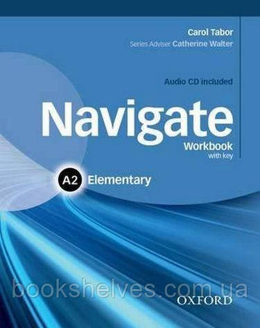 Navigate Elementary A2 Work Book + Audio CD + key