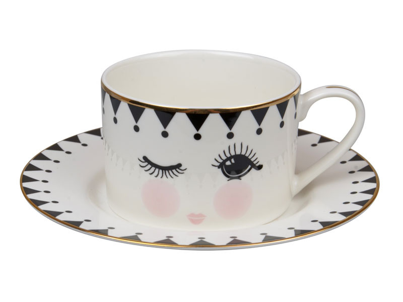 Чайный набор 2 предмета, 220 мл, Lefard, 920-093