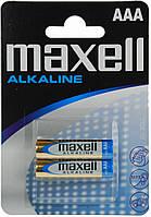 Батарейка AAA Maxell LR03 2 шт. BLISTER