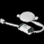 Светодиодный врезной светильник 1-MSP-1241-C MAXUS SP edge 12W 4100К Круг, фото 3