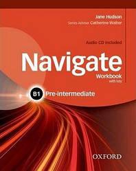 Navigate Pre-Intermediate B1 Work Book + Audio CD + key