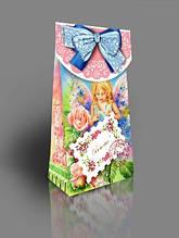 Подарочная коробка для конфет с открыткой, Нежность, 300 грамм