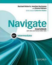 Navigate Intermediate B1+ Course Book + DVD + Online Skills