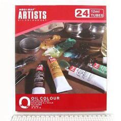 Краски масляные Artists 24 цвета*12мл HO2412C