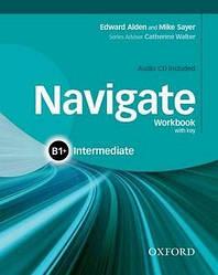 Navigate Intermediate B1+ Work Book + Audio CD + key