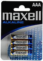 Батарейка AAA Maxell LR-03 4 шт. х блістер