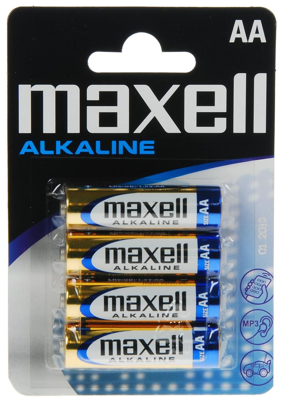 Батарейка AA MAXELL LR-6 4 шт BLISTER