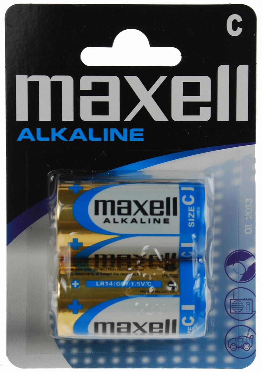 Батарейка MAXELL LR-14 2PK BLISTER