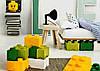 Четырехточечный бирюзовый контейнер для хранения Lego 40031743, фото 3