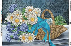 А2Н_043 . Схема для вишивки бісером Букет польових квітів