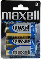 Батарейка MAXELL LR20 размер D  2 шт BLISTER