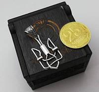 Кулон герб украины серебро 925 (трезубец кулон), фото 1