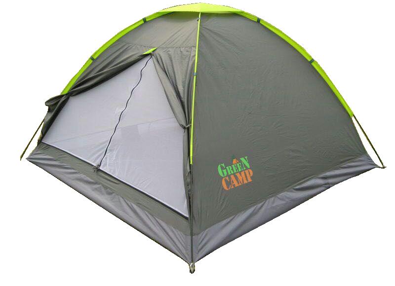 Палатка трехместная GreenCamp (GC1012)